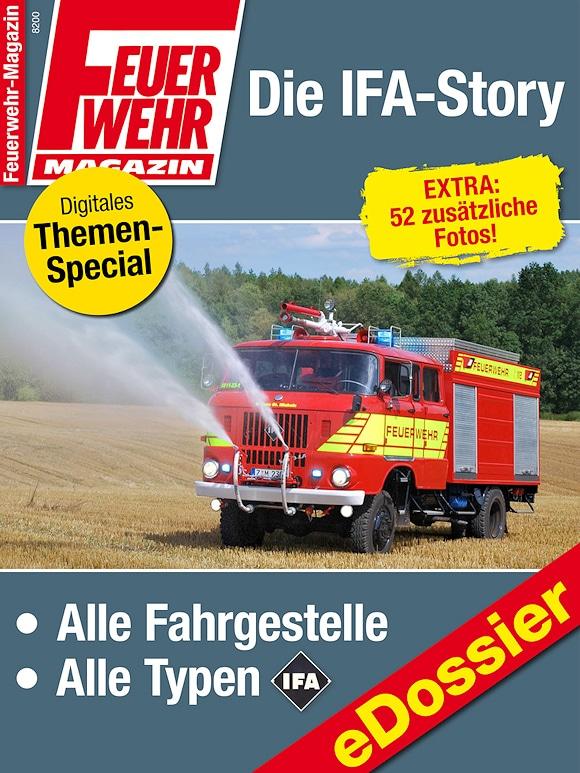 """IFA bei der Feuerwehr: eDossier """"Die IFA-Story""""."""