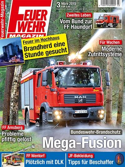 Feuerwehr-Magazin 3/2015