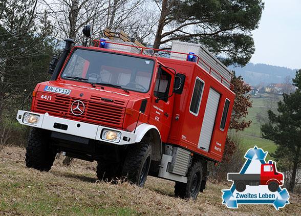 Im zweiten Leben Feuerwehrfahrzeug. Foto: Alexander Müller