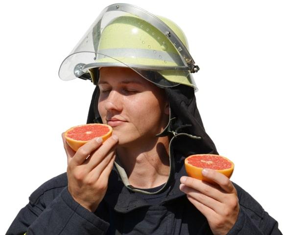 """Die Feuerwehr Venne bietet eine sogenannte Schnuppermitgliedschaft an. Christian ist schon dabei, er kann die Feuerwehr """"gut riechen"""".  Foto: Heiko Kettler/FF Venne"""