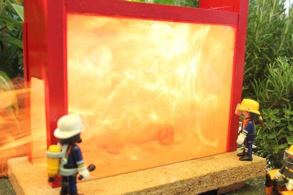 Feuerwehr-Experimente: Achtung Staub! Foto: Dr. Steffen Patzelt