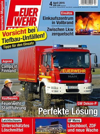 Feuerwehr-Magazin 4/2015