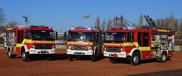Konzeptwechsel der Feuerwehr Geesthacht im Fuhrpark. Foto: Jann