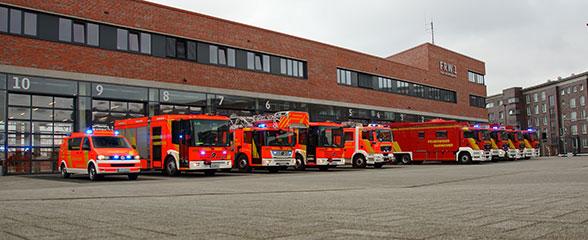 Umzug der Feuerwehr Hannover in die Nordstadt. Foto: Hegemann