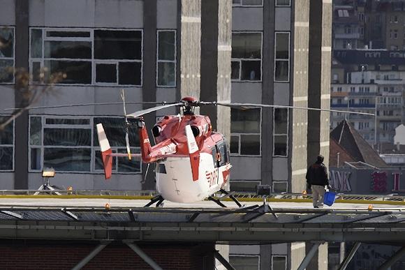 Tödlicher Unfall mit Rettungshubschrauber in Stuttgart. Foto: 7aktuell.de/Eyb