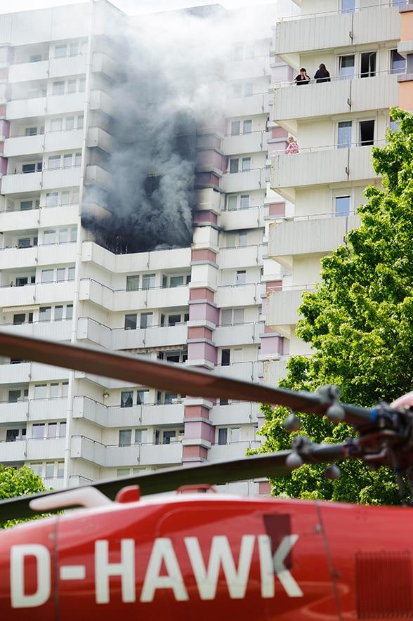 Todessturz aus 50 Meter Höhe. Foto: 7aktuell.de