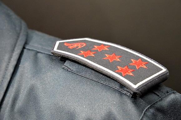Dienstgradabzeichen der Feuerwehr. Symbolfoto: Michael Rüffer