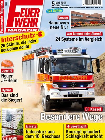 Feuerwehr-Magazin 05/2015
