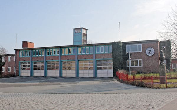 Die Hauptwache der Berufsfeuerwehr Flensburg. Foto: Feuerwehr Flensburg