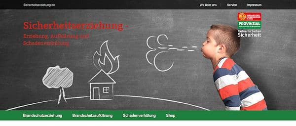 Screenshot der Website. Foto: VdF NRW