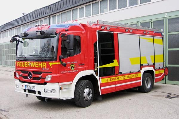 Das neue Löschgruppenfahrzeug, ein LF 20, der Feuerwehr Traunstein. Foto: Feuerwehr Traunstein