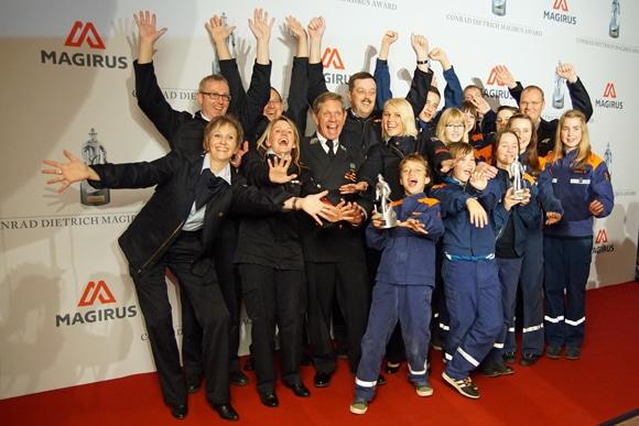 Gewinner des Jahres 2014 war die Jugendfeuerwehr Deisel. Foto: Hegemann