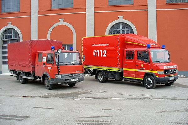 Ersetzt wird mit dem neuen V-LKW ein Lastwagen Iveco Turbo Zeta 65-12 aus dem Jahr 1989. Foto: Fischer/Feuerwehr