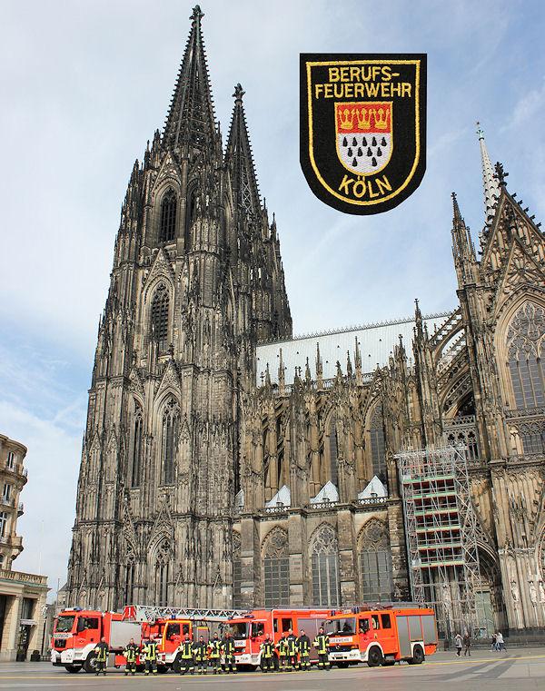 Berufsfeuerwehr Koeln_Dom_Loeschzug