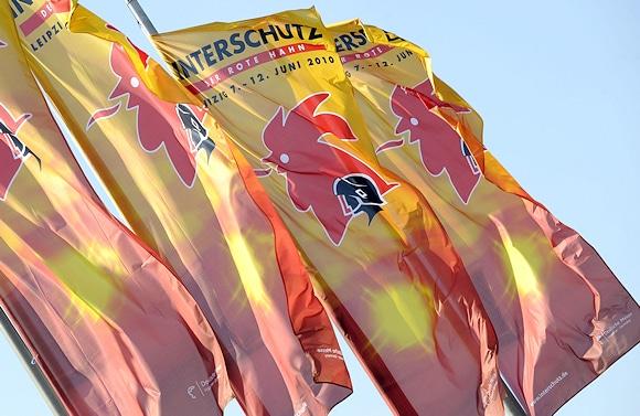 Flaggen bei der Interschutz. Symbolfoto: Deutsche Messe