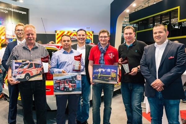Die Gewinner des Design112-Awards. Foto: Wiesbaden112
