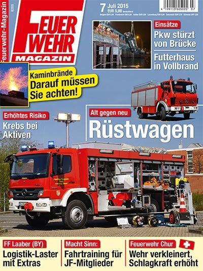 Feuerwehr-Magazin 7/2015