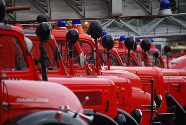 Bis zu 100 historische Einsatzfahrzeuge werden auf der Interschutz beim Feuer-wehr-Oldtimertreffen am 13. Juni erwartet. Symbolfoto: Brand/Feuerwehrfreune Oldenburg