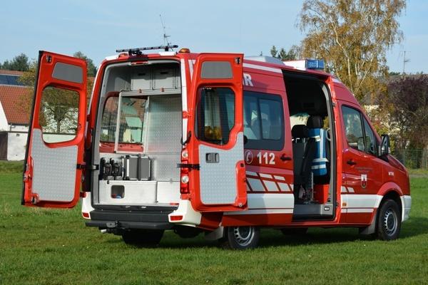 Der MTW der Feuerwehr Zirndorf-Lind. Foto: A. Müller