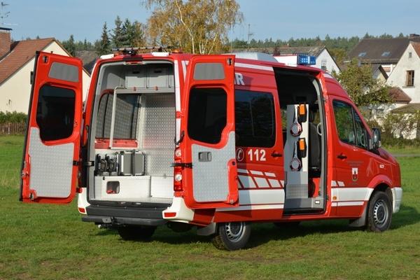Der MZF der Feuerwehr Zirndorf-Weiherhof. Foto: A. Müller