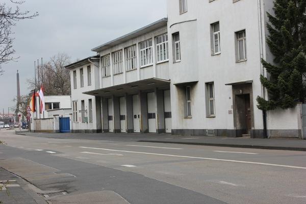 Das alte Gebäude der Feuerwache 10. Foto: Christian Patzelt