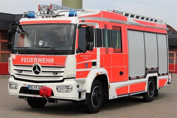 Das HLF 20 der Feuerwehr Stockstadt am Main. Foto: Feuerwehr Stockstadt