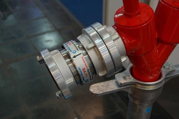 Der neue Systemtrenner BA F1 der Firma Luitpold Schott. Foto: Hegemann