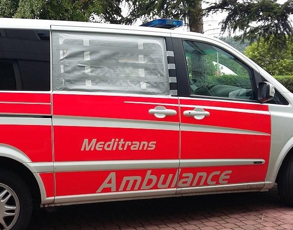 Repariertes Organ-Transportfahrzeug. Foto: Feuerwehr Düsseldorf
