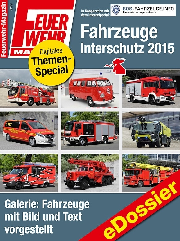 eDossier Fahrzeuge Interschutz 2015