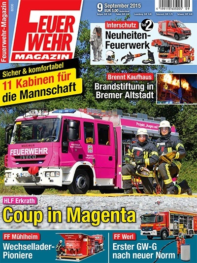 Feuerwehr-Magazin 09/2015