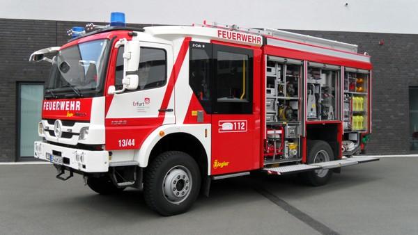 Das neu LF 20 der Freiwilligen Feuerwehr Erfurt-Melchendorf. Foto: Welzel/Feuerwehr