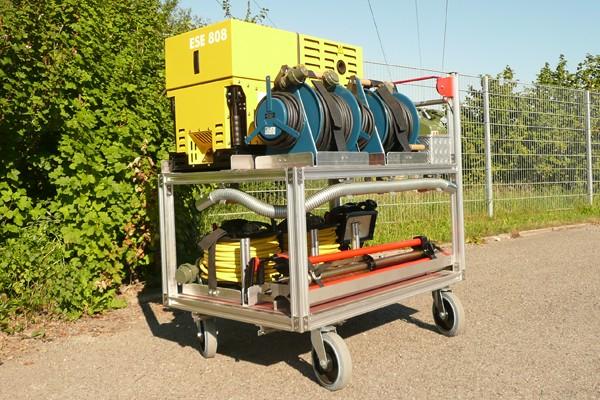 Rollwagen_Feuerwehr_Einsatz_Gerät_Transport_Rüstwagen