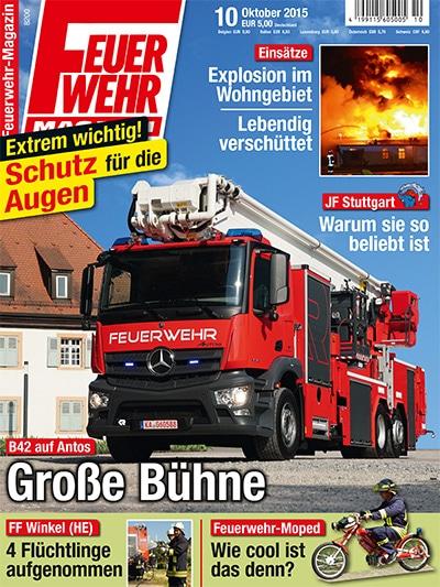 Feuerwehr-Magazin 10/2015