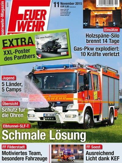 Feuerwehr-Magazin 11/2015