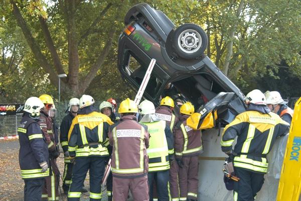 Die Ausbildung auf den Rescue Days 2014. Foto: Preuschoff