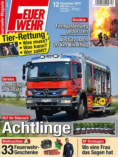 Feuerwehr-Magazin 12/2015