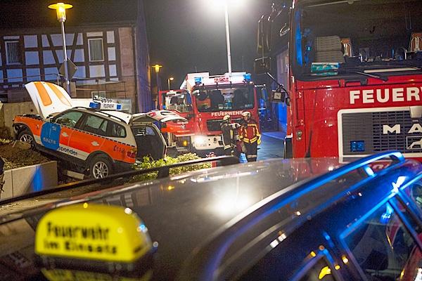 Einsatz für die Feuerwehr Heroldsberg. Foto: NEWS5 / Grundmann