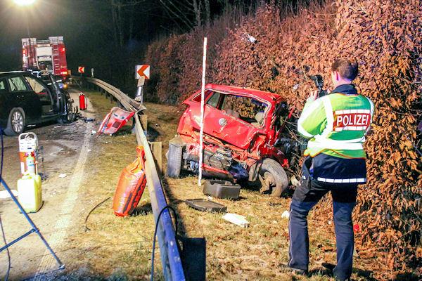 Tödlicher Verkehrsunfall in Bodelshausen (BW). Foto: 7aktuell/Timo Stuhrmann