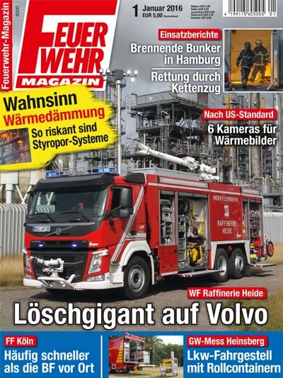 Feuerwehr-Magazin 01/2016