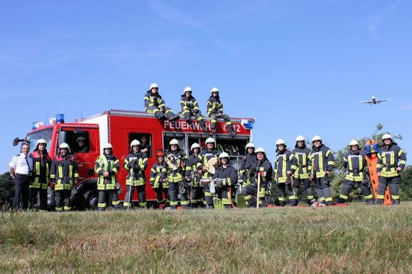 Freiwillige-Feuerwehr-Koeln-Urbach-Mannschaft