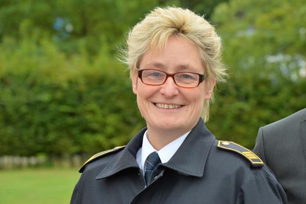 Die bisherige Leiterin der Feuerwehr Dormagen, Sabine Voss. Foto: Michael Rüffer