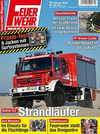 Feuerwehr-Magazin 02/2016