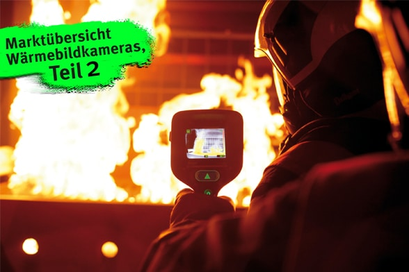 Wärmebilder für alle Trupps. Foto: Draeger