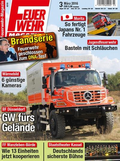 Feuerwehr-Magazin 03/2016