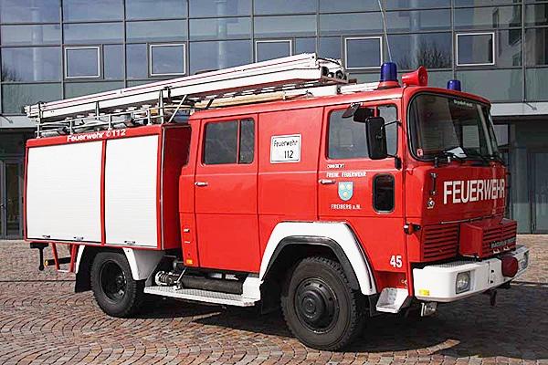 Das LF-16 TS geht nach Rumänien. Foto: Feuerwehr Freiberg am Neckar