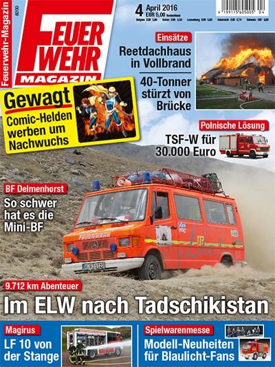 Feuerwehr-Magazin 04/2016
