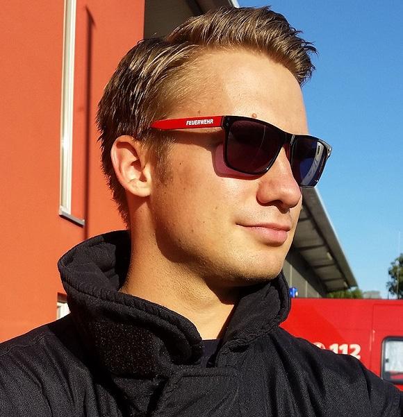 Feuerwehr Sonnenbrille