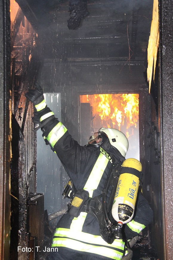 Dräger ist in der Feuerwehrbranche vor allem in Sachen Atemschutztechnik ein Begriff. Symbolfoto: Timo Jann