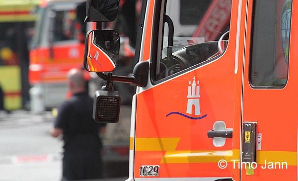 Feuerwehr Hamburg. Foto: Jann