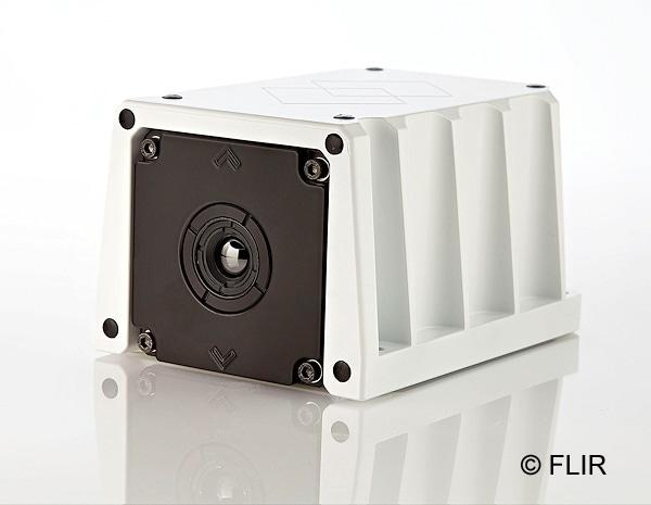 Zur Montage auf Hubrettungsfahrzeugen: FLIR KF6. Foto: FLIR